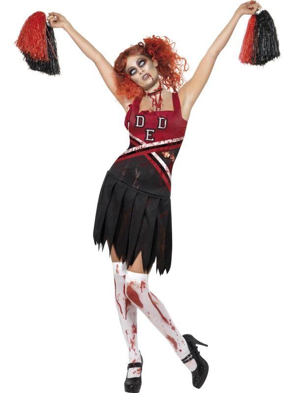 Kostým - Zombie roztleskávačka Smiffys.com