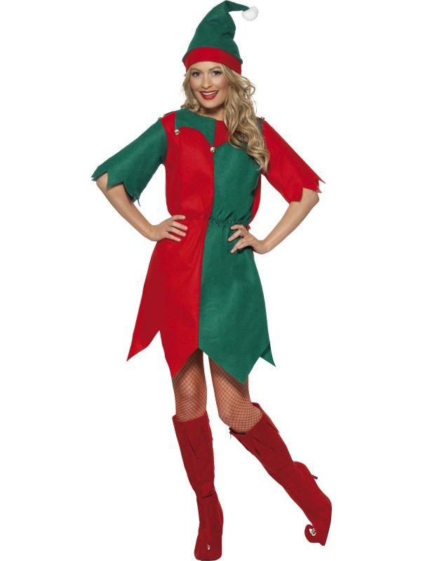 Kostým - Elf - Skřítek - M (88-E, 124kr05) Smiffys.com