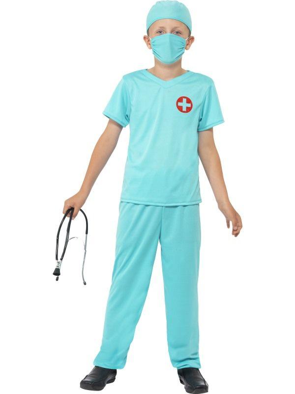 Dětský kostým Chirurg - M (86-C) Smiffys.com