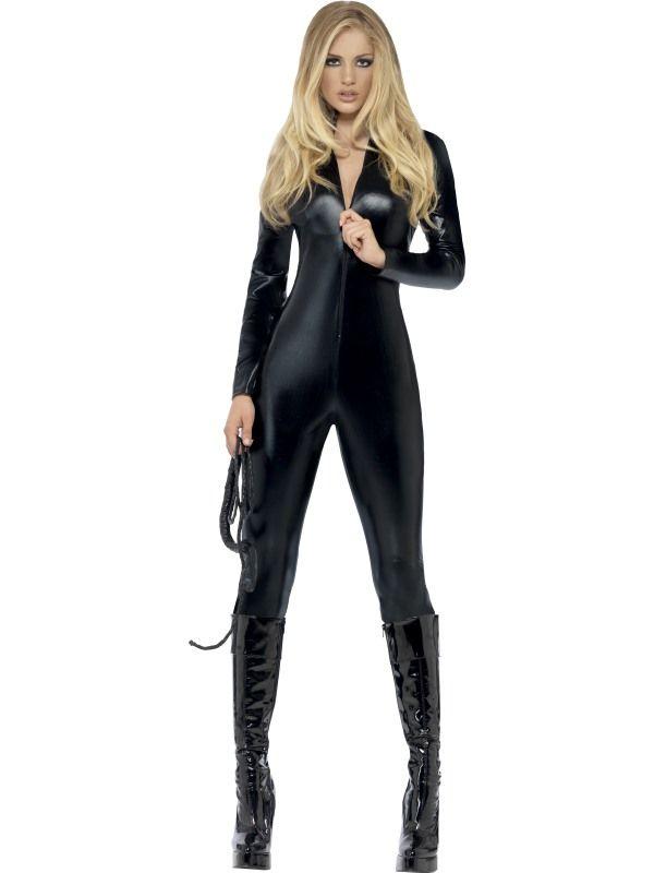 Kostým - Kombinéza oblek - černá - S (87-B) Smiffys.com