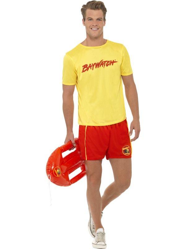 Kostým - Baywatch Lifeguard - M (99) Smiffys.com
