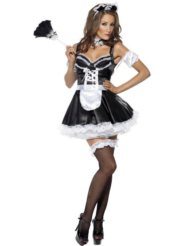 Kostým Sexy Francouzská pokojská - S (87-B) Smiffys.com 7b75c14d0d1