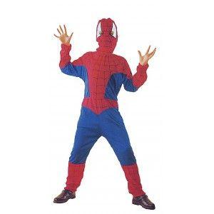 Dětský kostým - Spiderman - S (5-6let) (86) Dreck