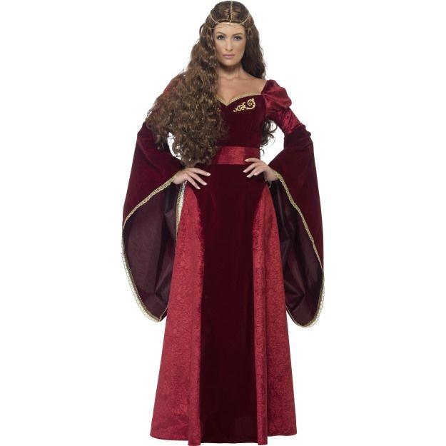 Kostým - Královna středověká - X1 (98, 124kr07) Smiffys.com