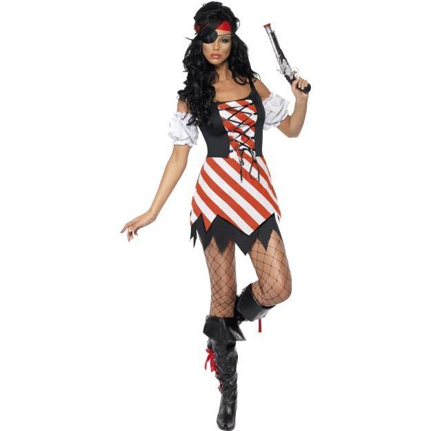 Kostým - Pirátka - S (87-C) Smiffys.com