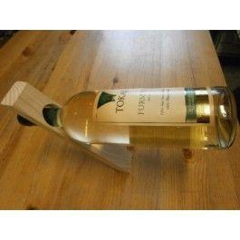 Držák na víno - dřevo