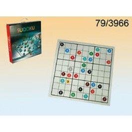 Hra sudoku skleněná (71A)