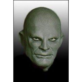 Maska Fantomas zelený - deluxe (M003) (119-D) Greyland