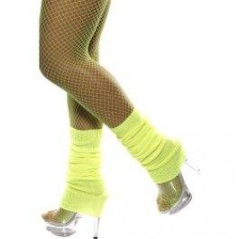 Návleky na nohy žluté Smiffys.com