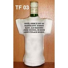 Tričko na flašku chtěl jsem ti dát.. (18-H) Divja.cz
