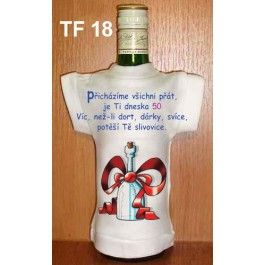 Tričko na flašku přicházíme všichni přát 50... (18-H) Divja.cz