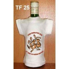 Tričko na flašku pro kvalitní sex (18-H)