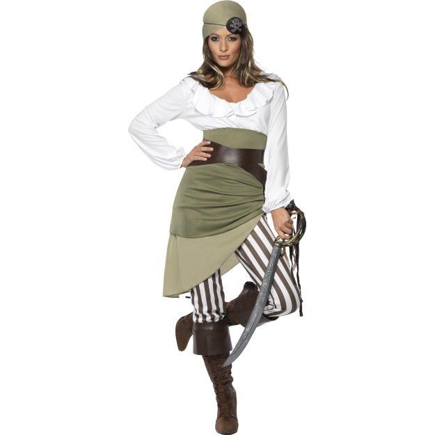 Kostým - Pirátka - L (97) Smiffys