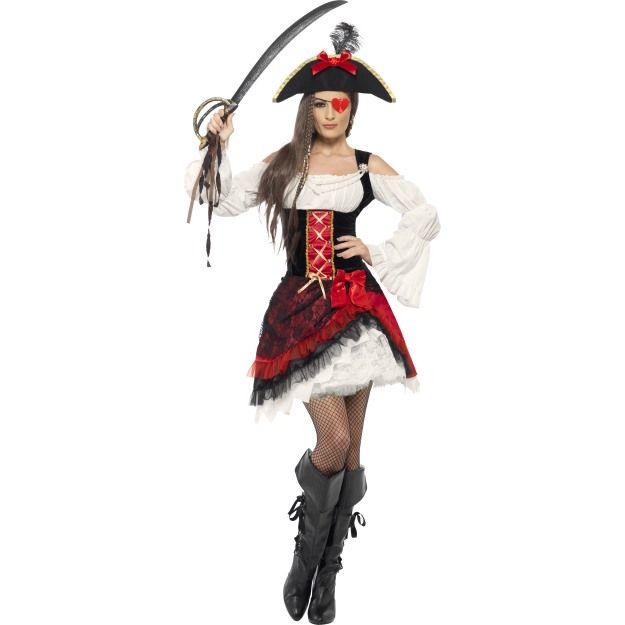 Kostým - Pirátská dívka Smiffys.com