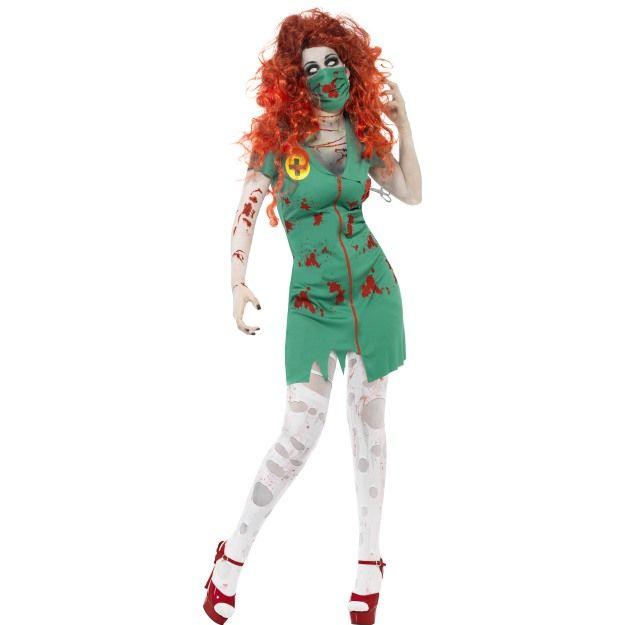 Kostým - Zombie - sálová sestra - S (87-C) Smiffys.com