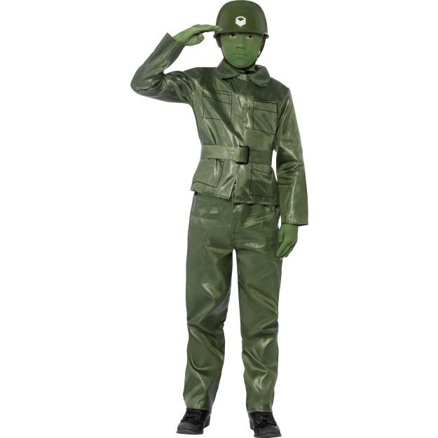Dětský kostým - Voják - figurka - S (86-B) Smiffys.com