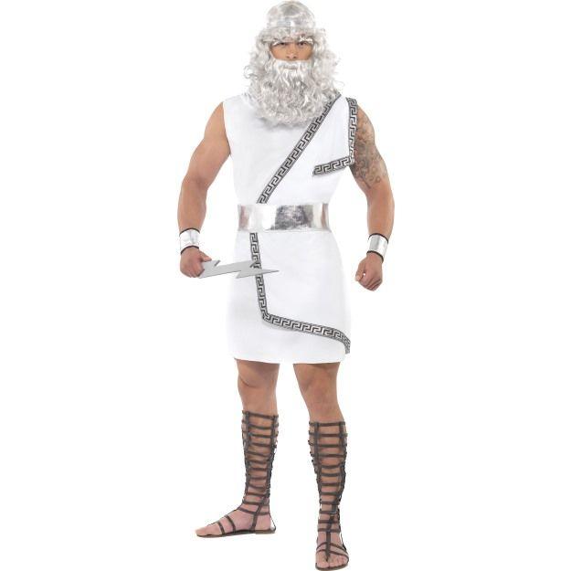 Kostým - Zeus - M Smiffys.com