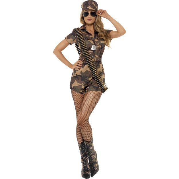 Kostým - Sexy vojanda - S Smiffys.com