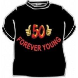 Tričko - 50 Forever young- XXL Divja.cz