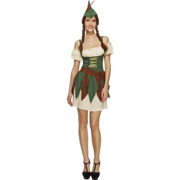 Kostým - Lesní žena Smiffys.com