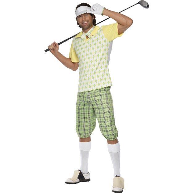 Kostým - Golfista Smiffys.com