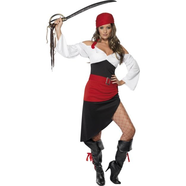 Kostým - Sexy pirátská dívka - S (87-C) Smiffys.com