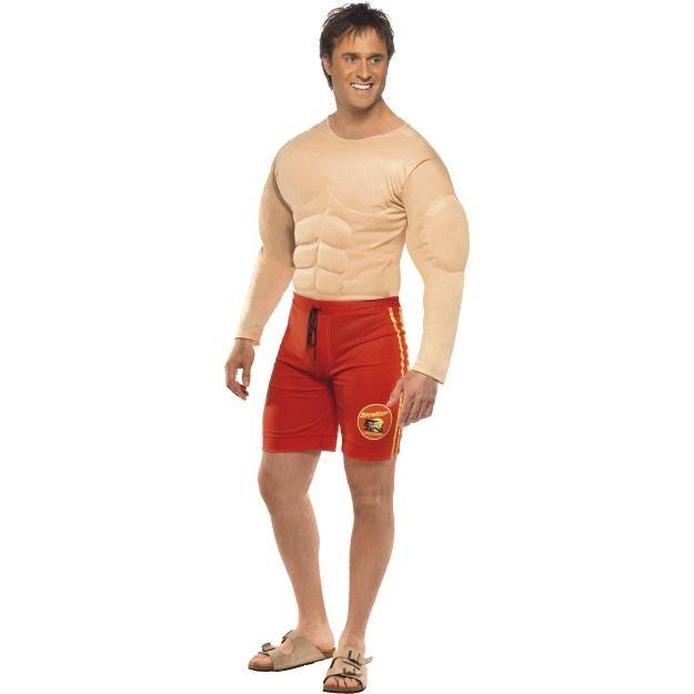 Kostým - Baywatch Lifeguard - svalovec Smiffys.com