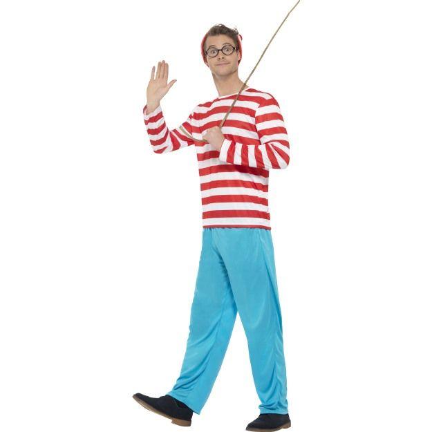 Kostým - Where's Wally? Smiffys.com