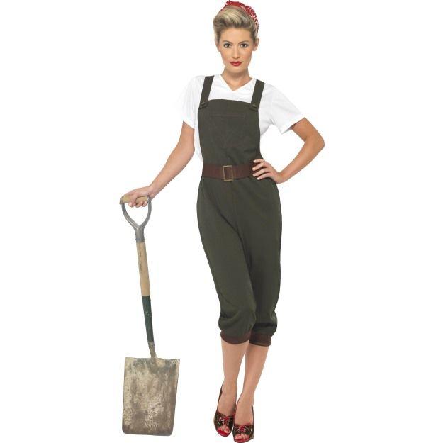 Kostým - WW2 Land Girl Smiffys.com