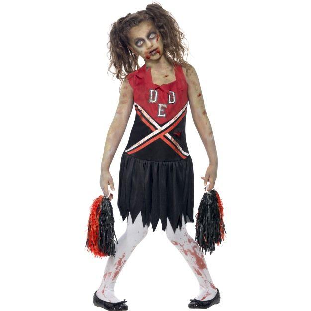 Dětský kostým - Zombie - Roztleskávačka - L Smiffys.com
