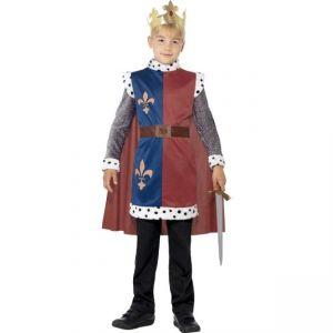 Dětský kostým - Král Artur - S  (86-B)