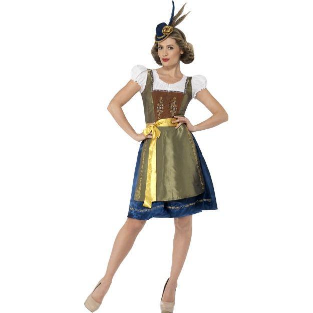 Kostým - Bavorské děvče Smiffys.com