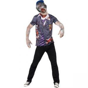 Kostým - Zombie - školák - M