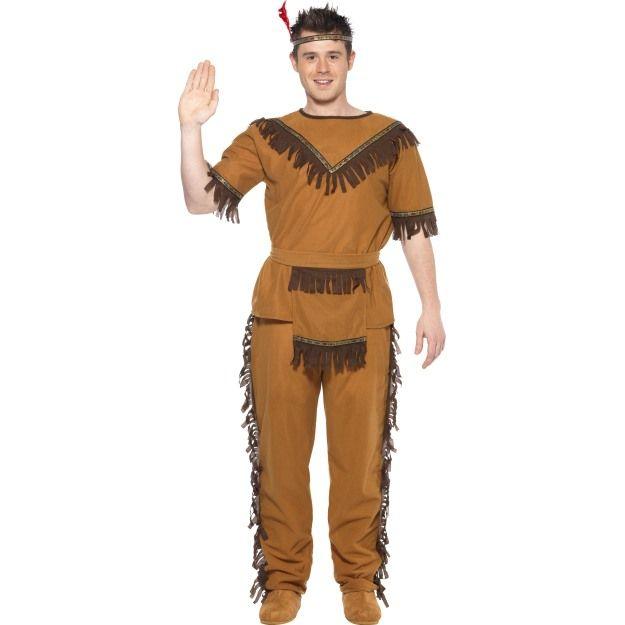 Kostým - Indián - L (104) Smiffys.com