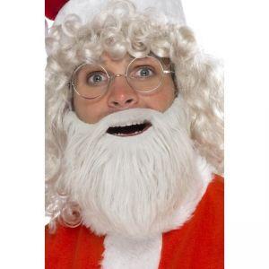 Vousy Santa - bílo/ šedé - bradka  - (56)