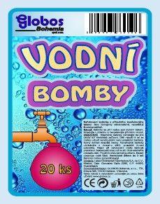 Balónek - Vodní bomby 20ks (12-H) Globos.cz