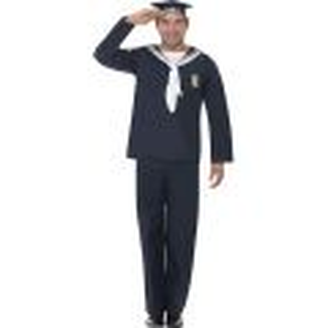 Kostým - Námořník modrý - L (105) Smiffys.com