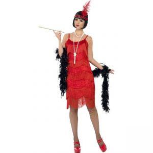Kostým - Charleston červený - L (95) Smiffys.com