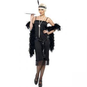 Kostým - CHARLESTON černý - L (95) Smiffys.com