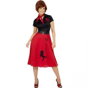 Kostým - 50 léta žena - X1 (98) Smiffys.com