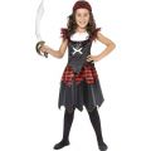 Dětský kostým - pirátka - M (85-C) Smiffys.com