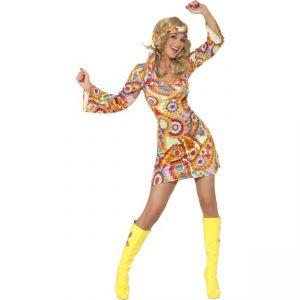 Kostým - Hippiesačka - M (88-D) Smiffys.com