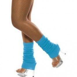 Návleky na nohy modré  (124-D)