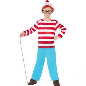 Dětský kostým - Wheres Wally? - S (86-B) Smiffys.com