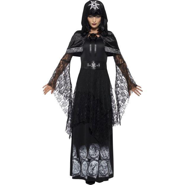 Kostým - vůdkyně černé magie Smiffys.com