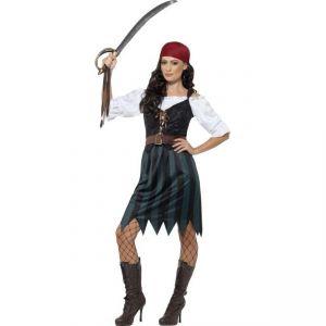 Kostým - Pirátka - S (87-C)