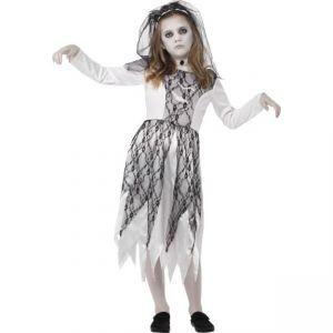 Dětský kostým - Duch nevěsty - M