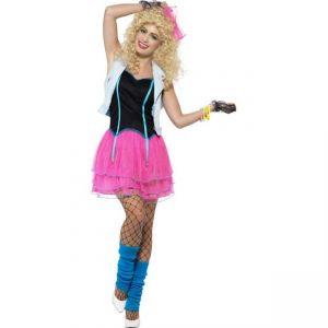 Kostým - Bláznivá dívka - 80 léta - L