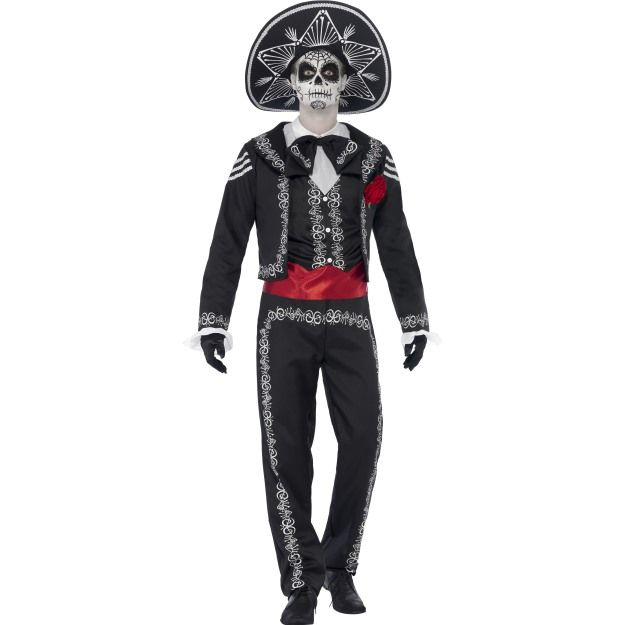 Kostým - Den mrtvých - Mexičan - L (104) Smiffys.com