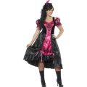 Kostým - Dívka ze saloonu - L